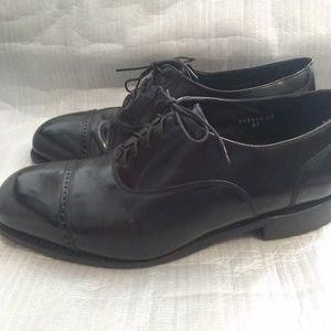 Florsheim  broxton black shiny shoes mens